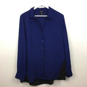 2/$20 Style & Company Button Down Blouse